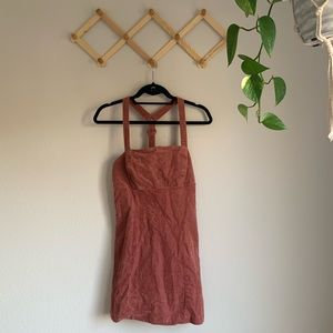 Urban outfitters corduroy overall dress